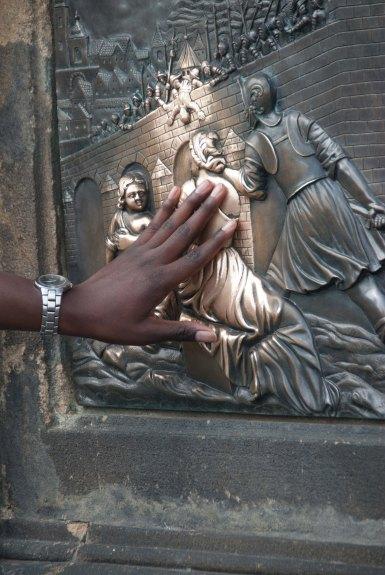 Touching - Prague