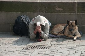Begger and Friend - Prague