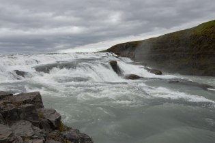 Top falls of Gullfoss - Iceland