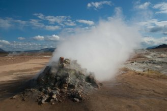 Volcanic Vent - Iceland