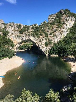 Rock Arch - Gorges de l'Ardeche, France