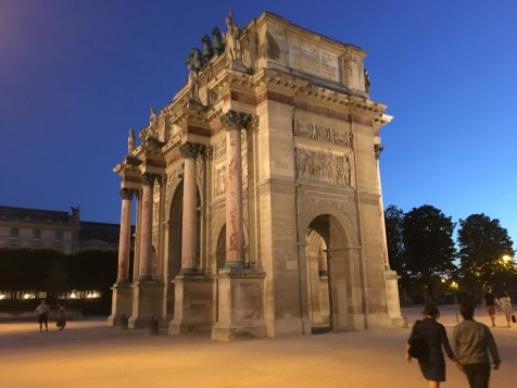 The Arc de Triomphe du Carrousel - France