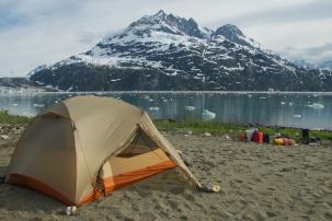 Campsite - Glacier Bay