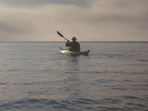 Paddling of the coast of Newfoundland