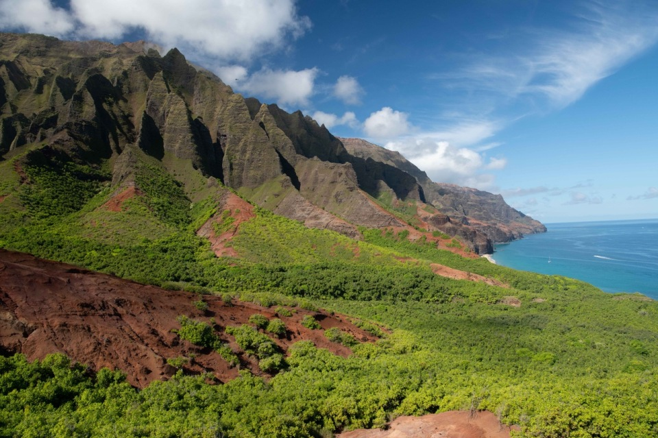 Kauai Mountains and water-1